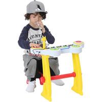 双重优惠:费雪(Fisher-Price)儿童电子琴套装 婴幼儿乐器玩具入门弹奏宝宝早教音乐启蒙新年礼物GMFP016