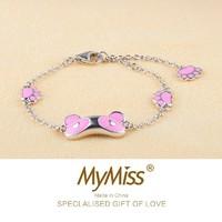 MyMiss MB-0052 熊猫宝宝925银手链