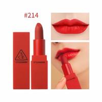 3CE限量版RED RECIPE系列显色口红