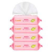 康贝 (Combi) 手口pipi专用婴 宝宝湿巾康贝湿巾纸 PIPI专用25*4包 *5件