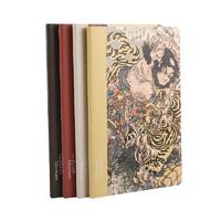 晨光 x 大英博物馆 水浒豪杰系列 A5缝线笔记本 4本装
