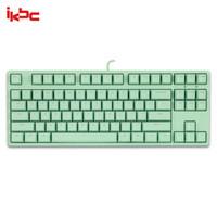 iKBC C200 机械键盘 87键 cherry轴 绿色 茶轴