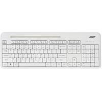 宏碁(acer) 蓝牙键盘 蓝牙无线双模键盘 笔记本ipad手机surface键盘  可插手机(白色)