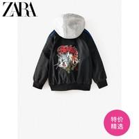 ZARA 新款 童装男童 春夏新品 猫和老鼠印花夹克外套 05854777800