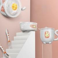 babycare 宝宝防摔碗吸盘五件套