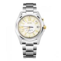 seiko精工原装进口蓝宝石表镜电波表自动对时男士手表