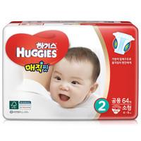 HUGGIES 好奇 婴儿魔法纸尿裤 S64片 *5件