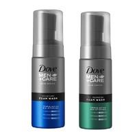 Dove/多芬男士氨基酸控油洁面慕斯140ml+保湿泡沫洗面奶140ml