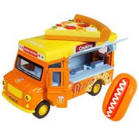 豆豆象 儿童过家家玩具车男女孩玩具汉堡快餐车 *2件