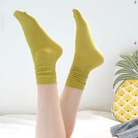 加兹尼 9103 女士长中筒堆堆袜 5双装