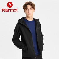 Marmot土拨鼠男士重力M1软壳衣加厚耐磨防泼水外套夹克