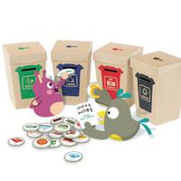 GWIZ 垃圾分类认知玩具 *10件