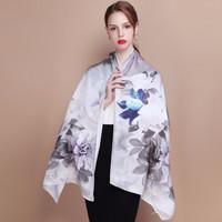 STORY&shanghai 上海故事 23470969953 丝绸女式丝巾