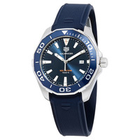 豪雅 Aquaracer蓝色表盘男士手表