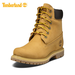 Timberland 添柏岚 系带高筒女靴  8226A 小麦色 36