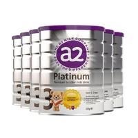 a2 艾尔 白金系列 婴幼儿奶粉 3段 900g 6罐装