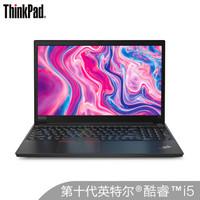 ThinkPad 思考本 E15 20RD003XCD 15.6英寸筆記本電腦 (黑色、i5-10210U、256GB SSD+1TB、8GB、RX640 2G)