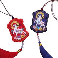索芙兰 手工刺绣DIY材料包 一鹿平安