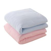 龙之涵婴儿被子 竹纤维秋冬款新生儿宝宝棉花被 幼儿园儿童空调被 床上用品 *2件