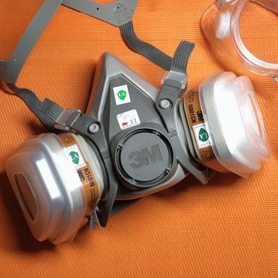 3M 6200+6002CN+5N11+501 防酸性气体 面罩套装