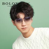 BOLON 暴龙 BL7079B91 不规则无框墨镜