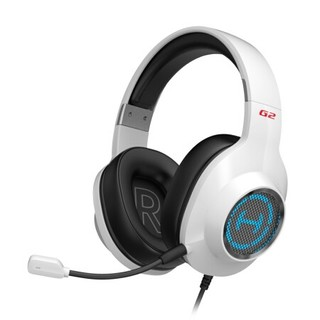 EDIFIER 漫步者 HECATE G2 专业版 游戏耳机 白色