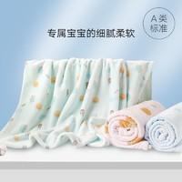gb好孩子婴儿毛毯新生儿盖被盖毯宝宝空调毯儿童超柔保暖小被子