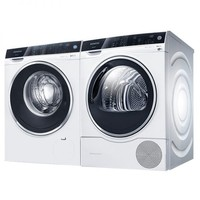 SIEMENS 西门子 WM14U560HW+WT47U6H00W 洗烘套装