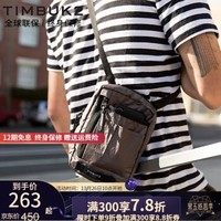TIMBUK2美国天霸单肩包男包潮流斜挎包杜邦面料骑行包时尚Zip小挎包时尚证件手机包 岩石灰Zip