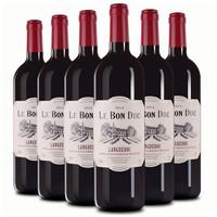 法拉圣堡 干红葡萄酒 朗格多克AOP/AOC 750ml 13度 6瓶装