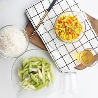 多莱斯餐具套装 碗碟套装 法国钢化玻璃餐具家用 双人6件套 透明色 *3件