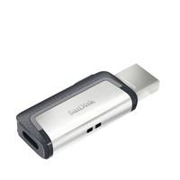 SanDisk 闪迪 至尊高速 Type-C USB3.0双接口闪存盘 128GB