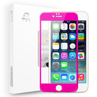 新视界 iphone6plus/6s plus 钛合金高清钢化膜(送壳)
