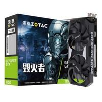 ZOTAC 索泰 GTX 1650-4G D5 毁灭者 PA 显卡 4GB