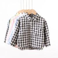 Oissie 奥伊西 男女童格子衬衫