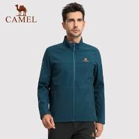 CAMEL 骆驼 A6W2T7103/A6W1T7117 男女款户外软壳 *2件
