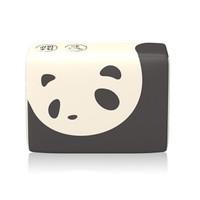 植护 功夫本色系列 熊猫 竹浆本色抽纸 4层 70抽*10包