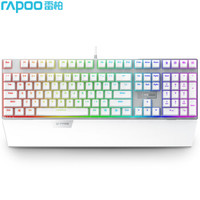 RAPOO 雷柏 V720S 机械键盘 (黑轴、白色、RGB、有线)