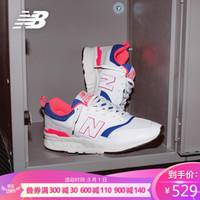 New Balance NB官方 青春有你训练生同款CM997HAG男鞋女鞋运动鞋 白色/灰色/蓝色CM997HAJ 41.5