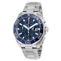 银联爆品日 : 豪雅 Aquaracer计时码表自动男士手表