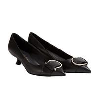 Salvatore Ferragamo 菲拉格慕 女士黑色牛皮革高跟鞋 0704632_1D _ 65