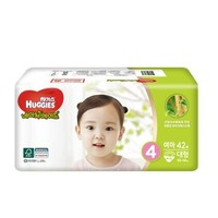 韩国好奇(Huggies) 天然之选纸尿裤 L42片 10-14kg 女宝 *3件