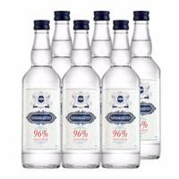 生命之水96度伏特加 可稀释非酒精度数75% 高度烈酒 鸡尾酒基酒 波兰进口洋酒 6瓶装