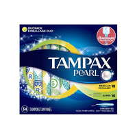 考拉黑卡会员:Tampax丹碧丝塑管棉条 短导管 34支混合装 普通流量18支 大流量16支