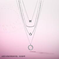 Pandora潘多拉 旋转式Pandora的心925银项链397410CZ个性