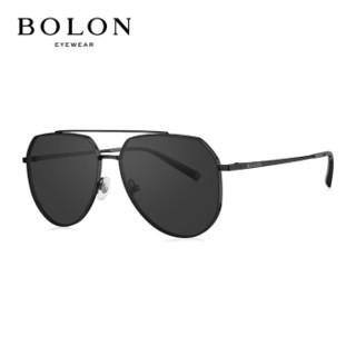 暴龙BOLON太阳镜2020新款飞行员墨镜男款偏光眼镜BL7117C10
