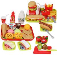 豆豆象儿童汉堡过家家玩具36件套