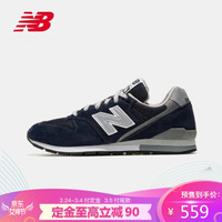 New Balance NB官方男鞋女鞋运动休闲鞋CM996BN 藏青色 CM996BN 40.5