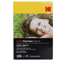 美国柯达Kodak 4R/6寸 230g 照片高光面打印相片纸/喷墨打印照片纸/相纸 100张装