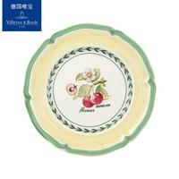 德国唯宝(Villeroy&Boch)法式花园系列盘子碗马克杯餐具陶瓷家用创意盘 面包盘B款 *3件